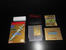 Zelda II 2 The Adventure Of Link NES Game Complete CIB Nintendo Classic Series