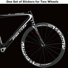 Road Bike Wheel Rim Stickers for Metron 90 Vision Bicycle Race Cycle Decals