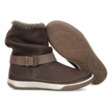 New ECCO CHASE II Womens Warm Leather Boots Size UK 3.5/36