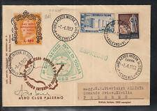 Airmail Espresso, for Aereo international tour of Sicily 1952