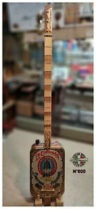 Cigar Box Guitar Antonio Hernandez 3-TPV n. 600 by Robert Matteacci