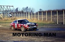 DATSUN 240Z DAILY MIRROR INTERNATIONAL RALLY 1972 PHOTOGRAPH HOLMES SHEKHAR