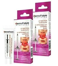 2x DermoFuture LIP CREAM  PUSH-UP Enlarging Glass Glow + Anti Wrinkle Vit B, E