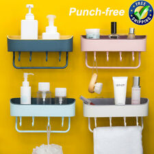 Bathroom Shower Shelf Corner Bath Storage Bath Holder Organizer Rack Punch-Free