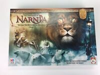 THE CHRONICLES OF NARNIA Lion Witch Wardrobe Board Game~Milton Bradley~Complete!