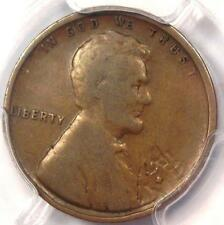 1909-S VDB Lincoln Wheat Cent 1C - PCGS VG Details - Rare Date Certified Penny!
