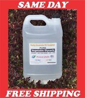 1 GALLON PURE ORGANIC  VEGETABLE GLYCERIN  NON GMO USP FOOD GRADE VG 128 OZ.