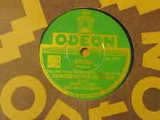 Disque 78 tours Odeon Harry James Trumpet Blues/Concerto for trumpet