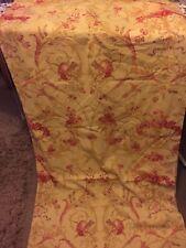 Laura  Ashley Malmaison Curtains Linen Blend FRENCH CHIC TOILE 158cm W 228cm D