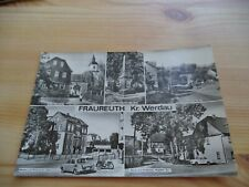Ansichtskarte  Fraureuth Werdau