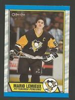 MARIO LEMIEUX O-PEE-CHEE 1989/1990 CARD # 1
