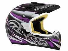 XL RXT Switchblade Carbon Fibreglass Helmet MX Motorbike $249.95 Purple