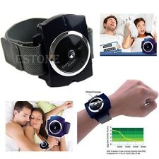 Snore Gone Cessation Stop Anti Snoring Wristband Watch Sleeping Night Guard