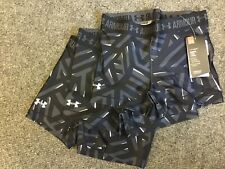 Under Armour 3 PACK HeatGear Ladies Printed Short Tight Black M medium hot pants