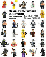 Movie Film Horror Minifigure Lego & Custo Minifigures BUY 3 & 1 FREE Mini Figure