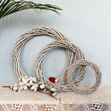 Christmas Rattan Ring Wreath Garland Wreath Wicker Wedding Xmas Party Decoration