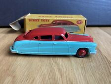 Vintage Dinky Toys Hudson Commodore Sedan No. 171 Red/Turquoise BOXED