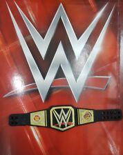 WWE MATTEL BASIC SERIES WORLD CHAMPION BELT FOR WRESTLING FIGURES BROCK LESNAR