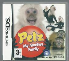 Nintendo DS Petz: My Monkey Family (plays 3ds in 2D)