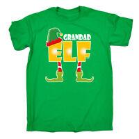 Funny T Shirt Grandad Elf Grandpa Pappa Grandfather Birthday Joke tee T-SHIRT