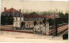 CPA ROMILLY-SUR-SEINE - École Maternelle et de Filles (179508)