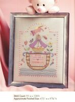 BOAT OF BLESSINGS BIRTH ANNOUNCEMENT  -  CROSS STITCH PATTERN ONLY HM - RYU