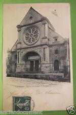 CARTE POSTALE DÉPARTEMENT 95 - LUZARCHES ÉGLISES ST CÔME 1909 - VAL-D'OISE - CPA