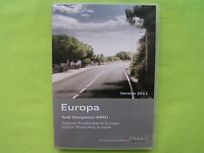 DVD NAVIGATION SOFTWARE AUDI MMI 2G EUROPA 2011 A4 A5 A6 A8 Q7 4E0 060 884 CJ