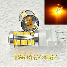 T25 3155 3157 3457 4157 SRCK 33 SMD LED Amber Reverse Backup M1 For Ford GM MA