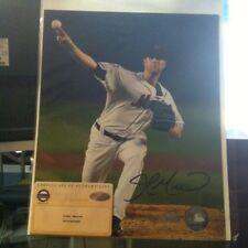 John Maine Auto Signed 8x10 Photo With Steiner Sports COA NY Mets
