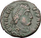 "VALENS ""Last True Roman"" 364AD Ancient Roman Coin Victory Nike Angel i32190"