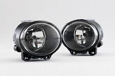 BMW 5 Series F10 F11 09-13 Front Fog Lights Pair Set Driver Passenger With Bulbs
