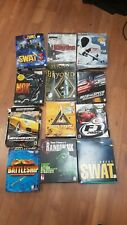 Lot of 12 Large Box PC (Computer Games) Untested