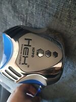 HIPPO HEX 2 HIGH LAUNCH LADIES RIGHT HAND DRIVER WITH MATCHING HEADCOVER