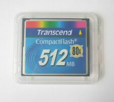 512MB Transcend CompactFlash CF Memory Card 100% Genuine industrial f/ Nikon