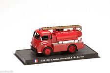 Camion sapeurs pompiers CAMION CITERNE GLA 19A BERLIET 1955 1:50 Delprado CBO064