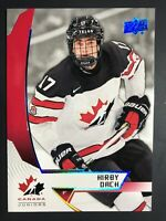 2019 Kirby Dach Upper Deck Team Canada Juniors Blue Rookie