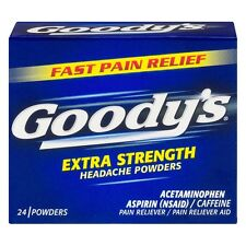 Goodys Extra Strength Headache Powders 24 ea (Pack of 5)