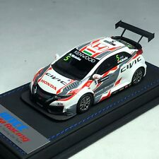 1/43 Mark Honda CIVIC FK2 WTCC N. Michelisz #5 Castrol Honda World Touring Car