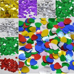 Wedding Table Heart Confetti - HIGH QUALITY - Scatter / Sprinkles / Birthday Dec