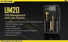 Nitecore Sysmax UM20 - Ladegerät für Li-Ion