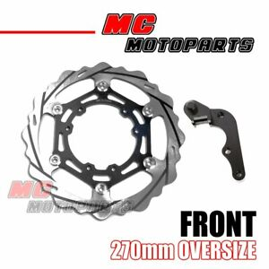 US Front Oversized Brake Rotors 270mm Kit Fit Honda CRF250R CRF450R 2015 16 2017