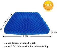 SESEAT Gel Seat Cushion Pad Non-Slip Orthopedic Gel Sitter Cushion for Tailbone