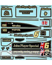 1/12 LOTUS MKIII 78 JPS PETERSON 1978 SEASON FULL DECAL for TAMIYA