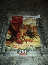 Sovereign Stone Campaign Sourcebook D20 System Roleplaying RPG Book New!