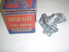 NOS Auto-Lite Fuel Pump 55 Plymouth 6-cyl & 1955 Dodge Six # FA-4005s