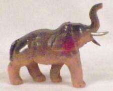 Elephant Celluloid Toy Figure Tusks Christmas Putz Vintage #92 Nice