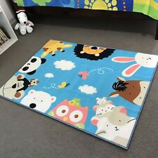 Kids Rugs Play Mats Animal 100% polyester 140x100cm Non-slide Best Rugs