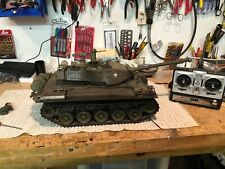2 henglong bulldog1/16 Rc tanks with Custom carriers