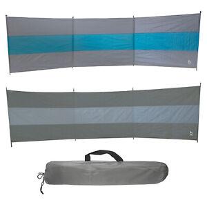BO-CAMP Camping Windschutz XL - Strand Zelt Garten Zaun Sichtschutz groß 500x140